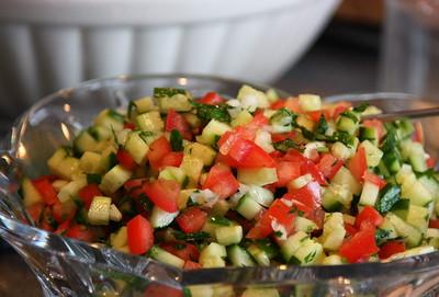 Make a Light and Refreshing Persian Shirazi Salad